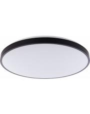 Plafon AGNES ROUND LED 9165 Nowodvorski Lighting czarna oprawa w nowoczesnym stylu