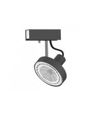 Reflektor CROSS 9598 Nowodvorski Lighting pojedyncza ruchoma oprawa w kolorze grafitu