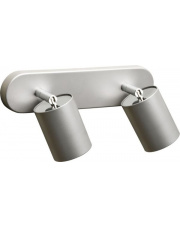 Plafon EYE SPOT 6140 Nowodvorski Lighting uniwersalna podwójna oprawa w kolorze srebrnym