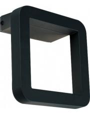 Kinkiet zewnętrzny THIKA LED 9121 Nowodvorski Lighting nowoczesna oprawa w kolorze czarnym