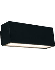 Kinkiet zewnętrzny UNIT LED 9122 Nowodvorski Lighting podłużna oprawa w kolorze czarnym