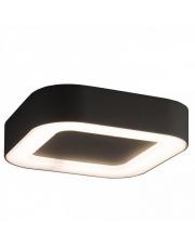 Plafon zewnętrzny PUEBLA LED 9513 Nowodvorski Lighting kwadratowa oprawa w kolorze grafitu