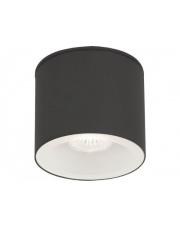Plafon zewnętrzny HEXA 9565 Nowodvorski Lighting grafitowa oprawa w kształcie tuby