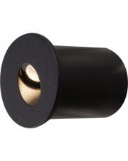 Oprawa schodowa OIA LED 9102 Nowodvorski Lighting okrągła wpuszczana w kolorze czarnym