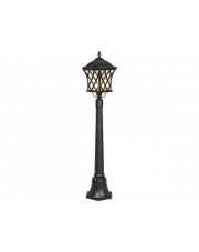 Lampa ogrodowa TAY 5294 Nowodvorski Lighting klasyczna oprawa w kolorze czarnym