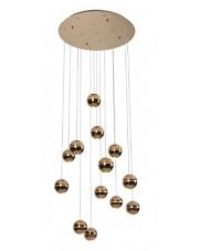 Lampa wisząca Zen 13 P0318 Maxlight nowoczesna oprawa w kolorze miedzi