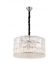 Lampa wisząca PUCCINI P0267 Maxlight okrągła oprawa kryształowa