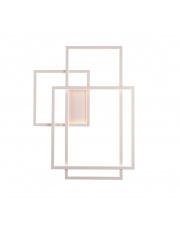 Kinkiet Geometric W0234 Maxlight nowoczesna oprawa ścienna w kolorze białym