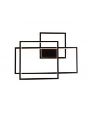 Kinkiet Geometric W0233D Maxlight czarna oprawa ścienna z funkcją ściemniania światła