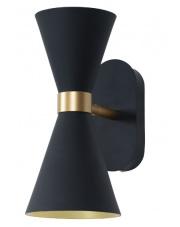 Kinkiet CORNET W0246 MAXlight czarna oprawa ścienna w nowoczesnym stylu