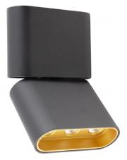 Plafon MARVEL C0150 Maxlight czarna oprawa sufitowa w nowoczesnym stylu