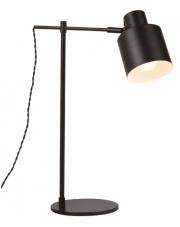 Lampa biurkowa BLACK T0025 MAXlight czarna oprawa w nowoczesnym stylu