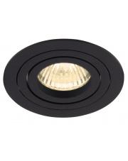 Oczko stropowe SIGNAL I H0086 nowoczesnna oprawa podtynkowa w kolorze czarnym