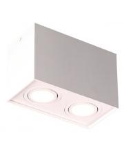 Plafon Basic Square II C0088 Maxlight biała oprawa w nowoczesnym stylu