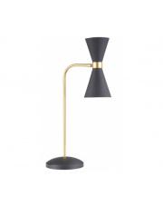 Lampa stołowa CORNET T0039 Maxlight czarna oprawa w nowoczesnym stylu