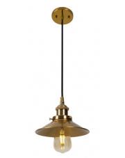 Lampa wisząca HAGA P0319 Maxlight mosiężna oprawa w nowoczesnym stylu