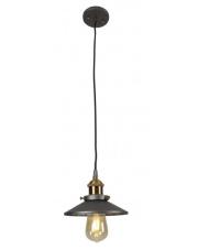 Lampa wisząca HAGA P0321 Maxlight szara oprawa w nowoczesnym stylu