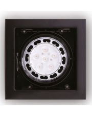 Oprawa podtynkowa Matrix H0048 Maxlight nowoczesna oprawa w kolorze czarnym