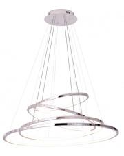 Lampa wisząca żyrandol Queen P0374D Maxlight chromowa oprawa z funkcją ściemniania światła