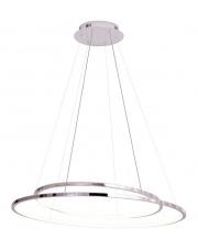 Lampa wisząca żyrandol Queen P0375D Maxlight chromowa oprawa z funkcją ściemniania światła