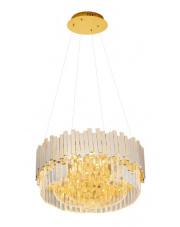 Lampa wisząca TREND P0368 MAXlight nowoczesna oprawa sufitowa w kolorze złotym