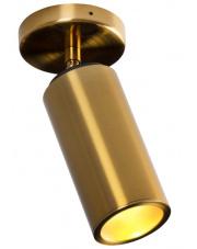 Lampa sufitowa VARSOVIA C0146 MAXlight nowoczesna oprawa sufitowa w kolorze mosiądzu