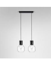 Lampa wisząca MODERN GLASS Barrel E27x2 AQform różne kolory