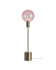 Lampa stołowa Uno 107872 Markslojd minimalistyczna oprawa z różowym abażurem