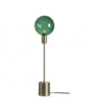 Lampa stołowa Uno 107873 Markslojd minimalistyczna oprawa z zielonym abażurem