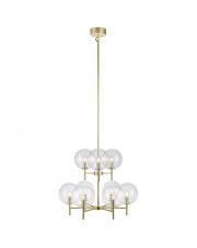 Żyrandol Crown 107920 Markslojd złota dekoracyjna oprawa wisząca