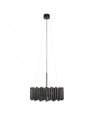Lampa wisząca Level 107925 Markslojd czarna oprawa sufitowa w stylu design