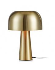 Lampa stołowa Blanca 107935 Markslojd złota oprawa w nowoczesnym stylu