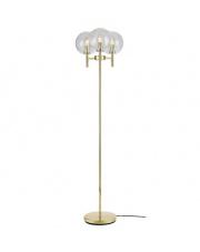 Lampa podłogowa Crown 107946 Markslojd dekoracyjna oprawa w kolorze złotym