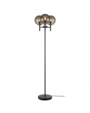 Lampa podłogowa Crown 107947 Markslojd dekoracyjna oprawa w kolorze czarnym