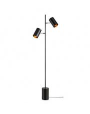 Lampa podłogowa Twin 107949 Markslojd nowoczesna oprawa w kolorze czarnym