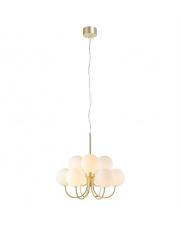 Żyrandol Bianco 107994 Markslojd biało-złota oprawa w dekoracyjnym stylu