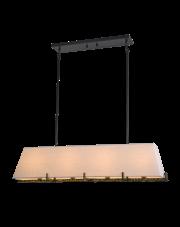 Lampa wisząca Stockholm P04643BK AU COSMOLight klasyczna oprawa nad stół