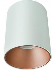 WYSYŁKA 24H! Plafon EYE TONE 8926 Nowodvorski Lighting biała oprawa ze złotym pierścieniem