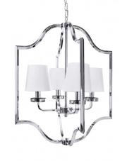 Lampa wisząca Sena 4 BL0211 Berella Light dekoracyjna oprawa w kolorze białym
