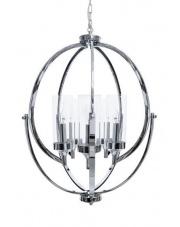 Lampa wisząca Roda 5 BL0384 Berella Light chromowa oprawa w nowoczesnym stylu
