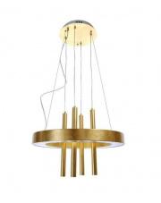 Lampa wisząca Ruella 5 BL0308 Berella Light nowoczesna oprawa wisząca w kolorze złotym
