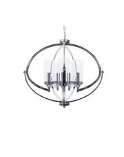 Lampa wisząca Roda 5L BL0440 Berella Light chromowa oprawa w nowoczesnym stylu