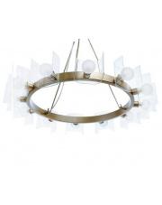Lampa wisząca Vetola BL0032 Berella Light nowoczesna oprawa wisząca w kolorze złotym