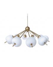 Lampa wisząca Peonia LED BL0124 Berella Light wieloramienna oprawa sufitowa w kolorze złotym