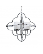 Lampa wisząca Hevis 4 BL0177 Berella Light chromowa oprawa w nowoczesnym stylu