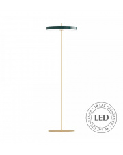 Lampa podłogowa Asteria Floor Forest Green 02339 UMAGE nowoczesna designerska oprawa stojąca