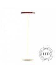 Lampa podłogowa Asteria Floor Ruby Red 02341 UMAGE nowoczesna designerska oprawa stojąca