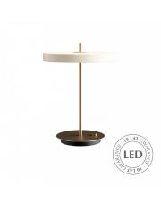 Lampa stołowa Asteria Table Pearl White 02305 UMAGE nowoczesna designerska oprawa stojąca