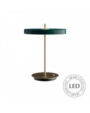 Lampa stołowa Asteria Table Forest Green 02307 UMAGE nowoczesna designerska oprawa stojąca