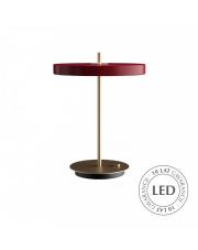 Lampa stołowa Asteria Table Ruby Red 02309 UMAGE nowoczesna designerska oprawa stojąca